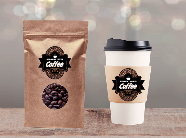 Coffee Labels | Decals.com