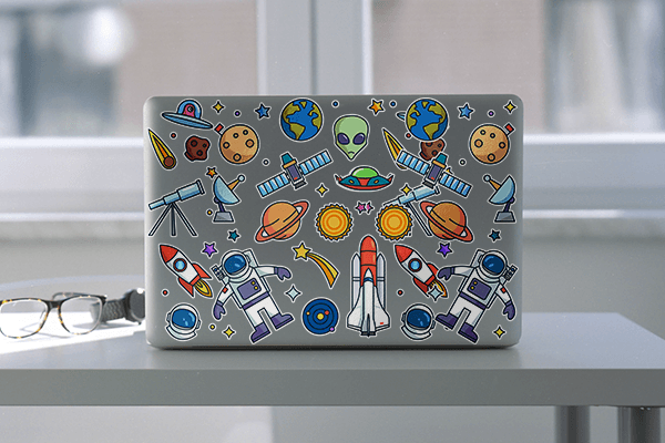 Custom Laptop Stickers