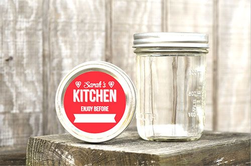 Mason Jar Labels | Decals.com