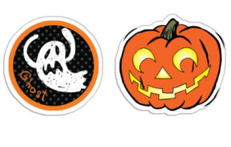 Halloween Stickers | Decals.com