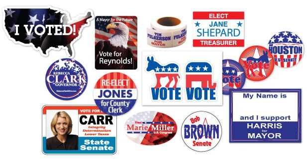 Political Stickers | Decals.com