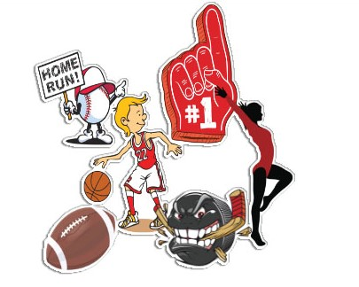 Sports Stickers | Decals.com