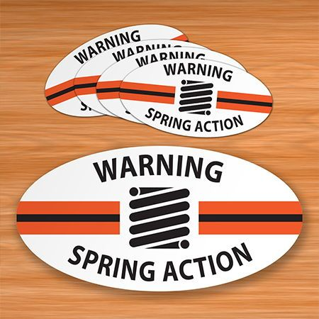 Oval Stickers for Manufacturing
