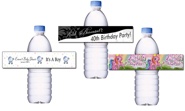 Water Bottle Labels | Decals.com